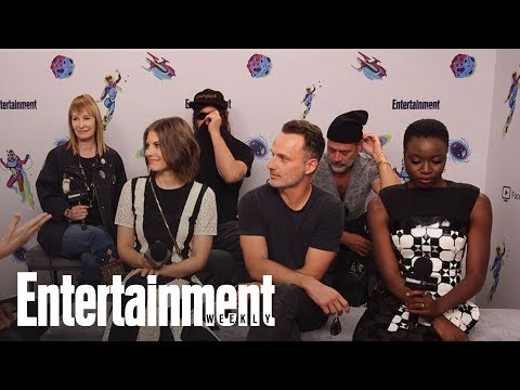 'The Walking Dead' Cast On Set Pranks, Defending Spoilers & More | SDCC 2018 | Entertainment Weekly