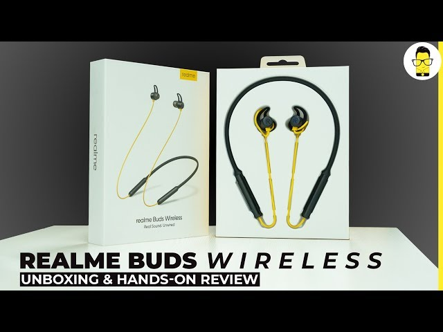 realme Buds wireless unboxing and hands-on review: compelling!