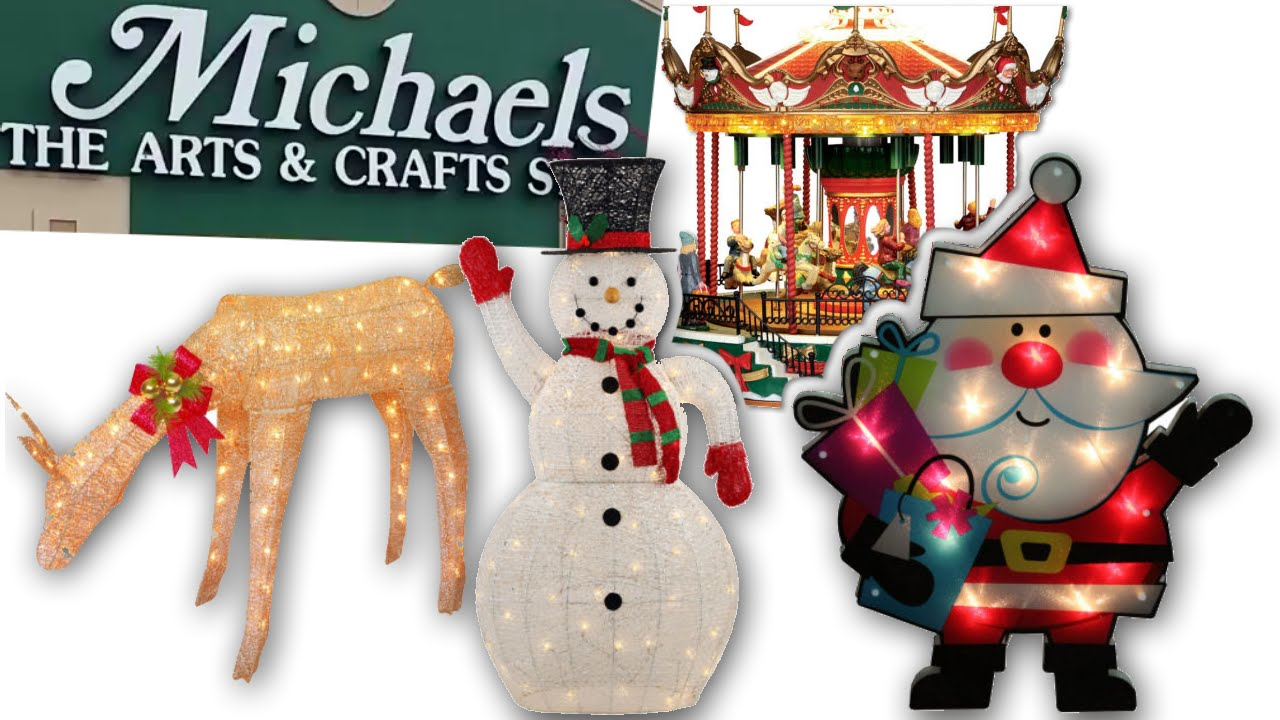 Christmas Store Tour Michaels - YouTube