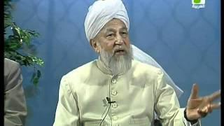 Liqa Ma'al Arab 28 July 1998 Question/Answer English/Arabic Islam Ahmadiyya