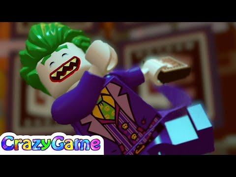 The #LEGO #Batman Movie 100% Guide #1 The Energy Plant (All Minikits, Menial Task Mike Rescued)