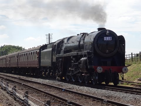 Great Central Railway 50 years since the end of BR steam event