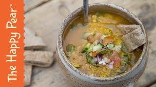Red Lentil Dahl - SUPERTASTY Lentil Recipe! Healthy Indian Food