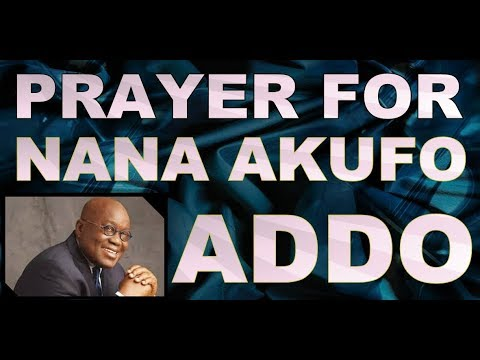 1 GHANAIAN MOVIE IN ISRAEL - PRAYER FOR NANA AKUFO ADDO