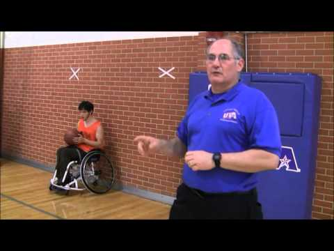 Thumbnail: Five Minutes of Wheelchair Basketball: U turns and J cuts