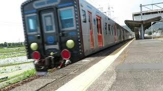 YC1系の甲種輸送が南岩j国駅を通過!