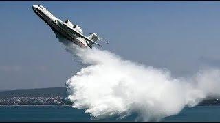 Самые мощные и большие самолеты-амфибии!