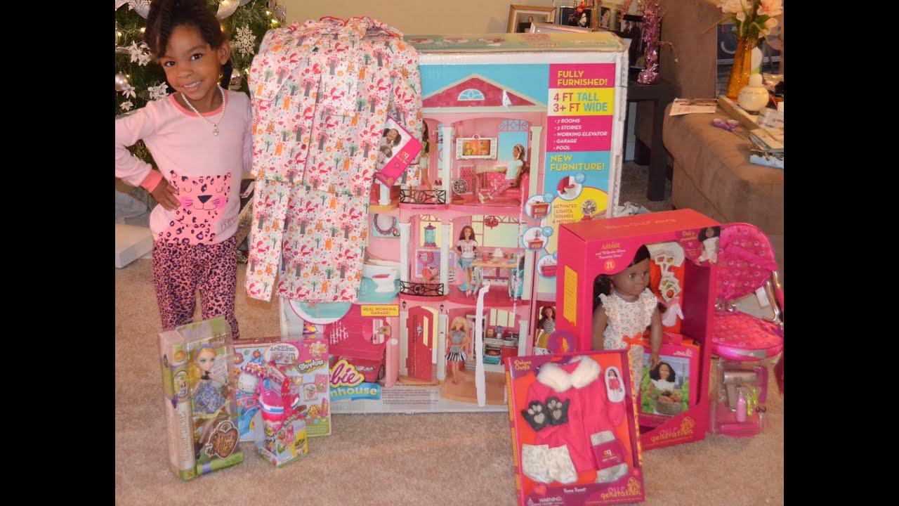 Divas Christmas Barbie Dream House Youtube