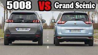 Peugeot 5008 SUV vs Renault Grand Scénic 2017 Comparatif Design, Moteurs | AUTOREDUC TV