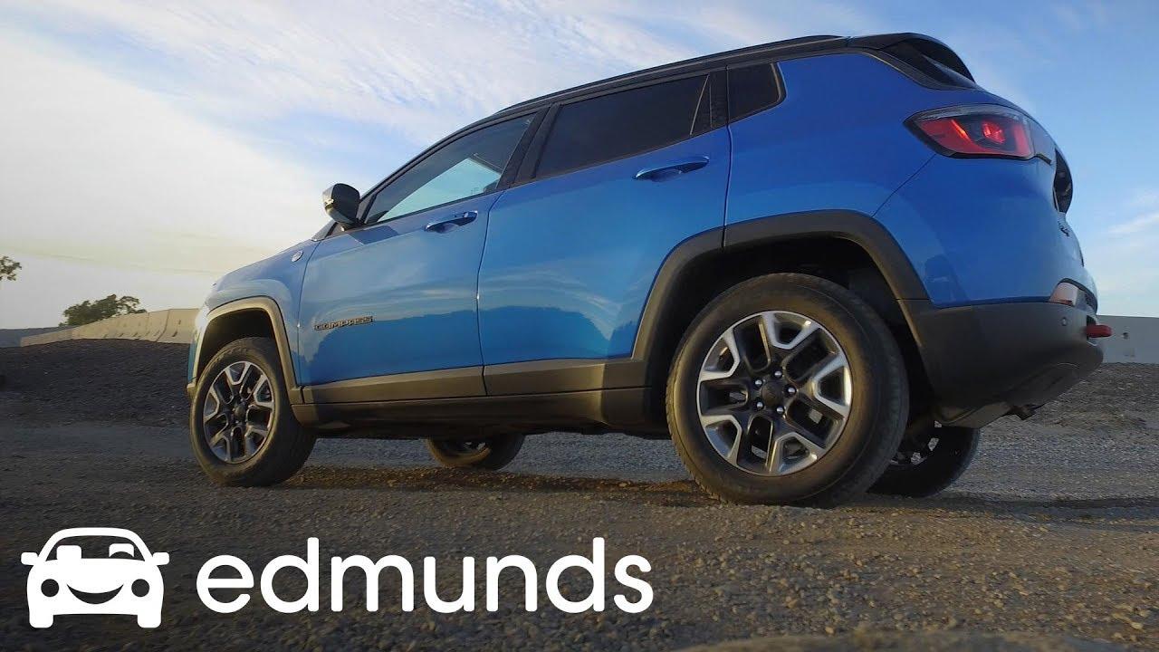 2017 Jeep Comp Trailhawk Off Road Track Test Edmunds