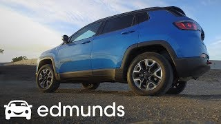 2017 Jeep Compass Trailhawk Off-Road Track Test