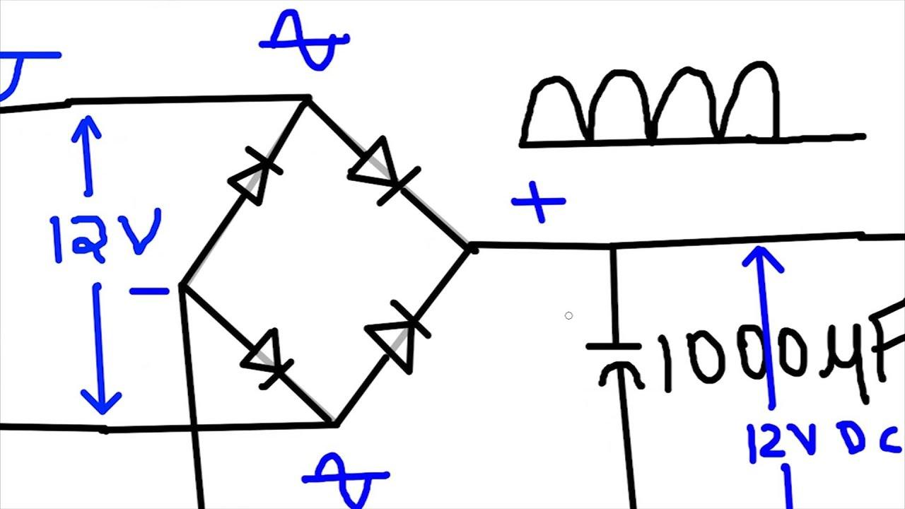 220v To 12v Transformer Wiring Diagram Honda Metropolitan How Convert 230v Ac 5v Dc Youtube