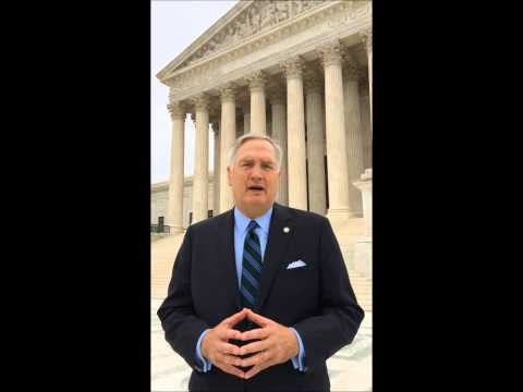 Luther Strange Argues First Amendment Case Before Supreme Court