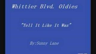 Sunny Lane-Tell It Like It Was