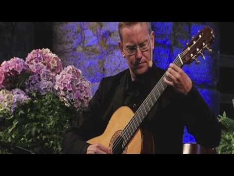 Krister Dahlström, guitar Spanish Romance S;t Nicholas Ruin, Visby Sweden