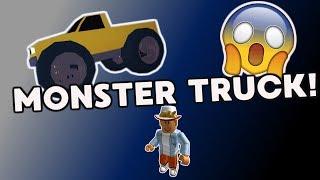 MONSTER TRUCK!   Roblox   Jailbreak