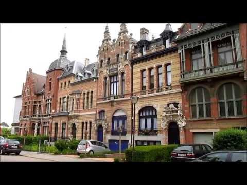 Antwerp, Belgium: Cogels Osylei, a mix of architectural styles