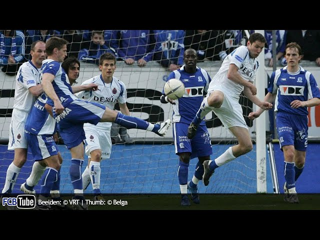2007-2008 - Jupiler Pro League - 31. AA Gent - Club Brugge 0-0