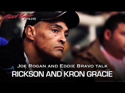 Joe Rogan and Eddie Bravo talk Rickson and Kron Gracie at ADCC 2013