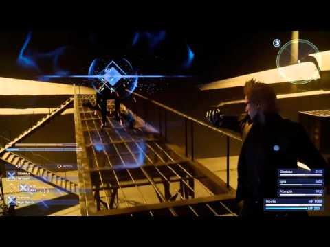 FINAL FANTASY XV  - Niflheim Base Battle Footage (1080p)