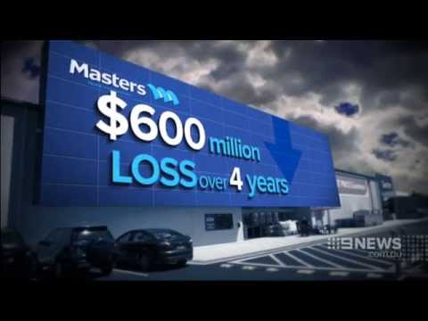Channel 9 News: Masters Hardware - Brian Walker comments.