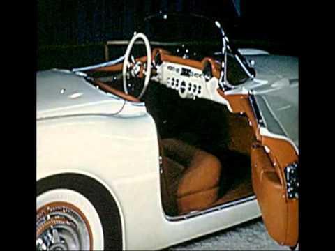 Chevrolet Corvette Prototype 1953 Chicago Auto Show