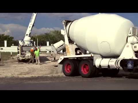 On Location Report - PWD Key West Concrete Pour