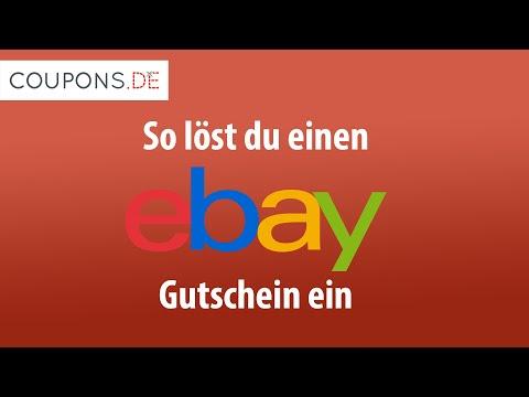 Einen EBay Gutschein Einlösen