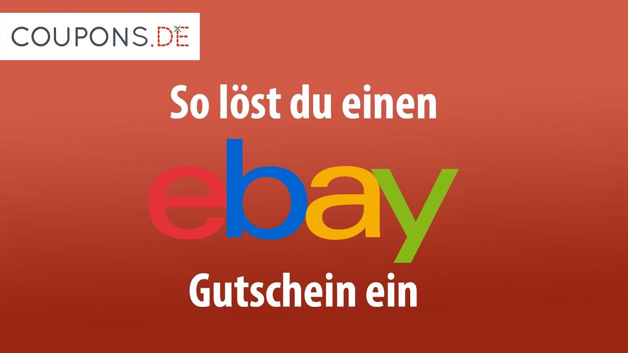 ebay gutschein einlösen