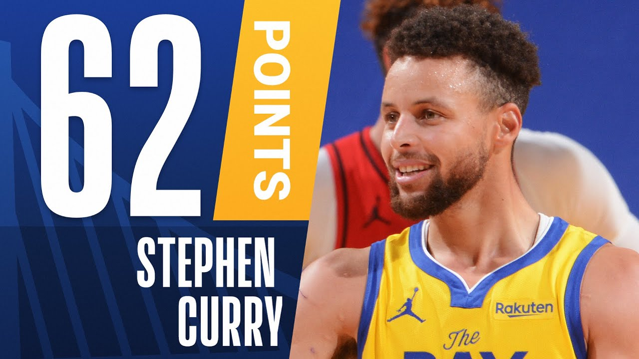 Career High 62 Pts For Stephen Curry Youtube
