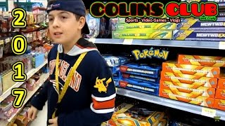 2017 BIG Pokemon Card & Pack Hunting - ColinsClub