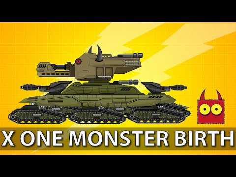 """""""X One Monster Birth"""" - Cartoon about tanks"""