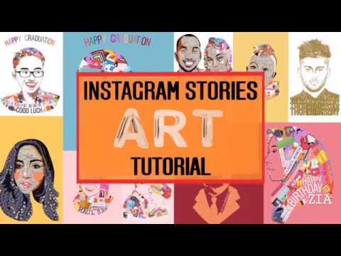Instagram Stories Art Tutorial [Bahasa] thumbnail