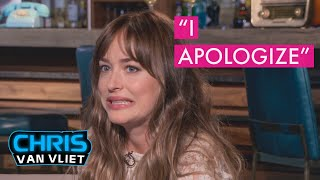 Baixar Dakota Johnson apologizes to me for that Leslie Mann interview, Bad Times at the El Royale