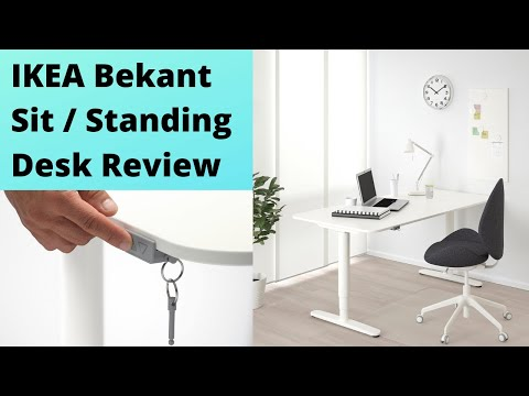 (REVIEW) IKEA Bekant Sit / Standing Desk (REVIEW)