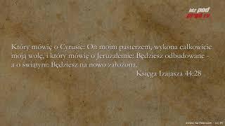 BIBLIA NA CO DZIEŃ: Księga Izajasza #44 cz.3