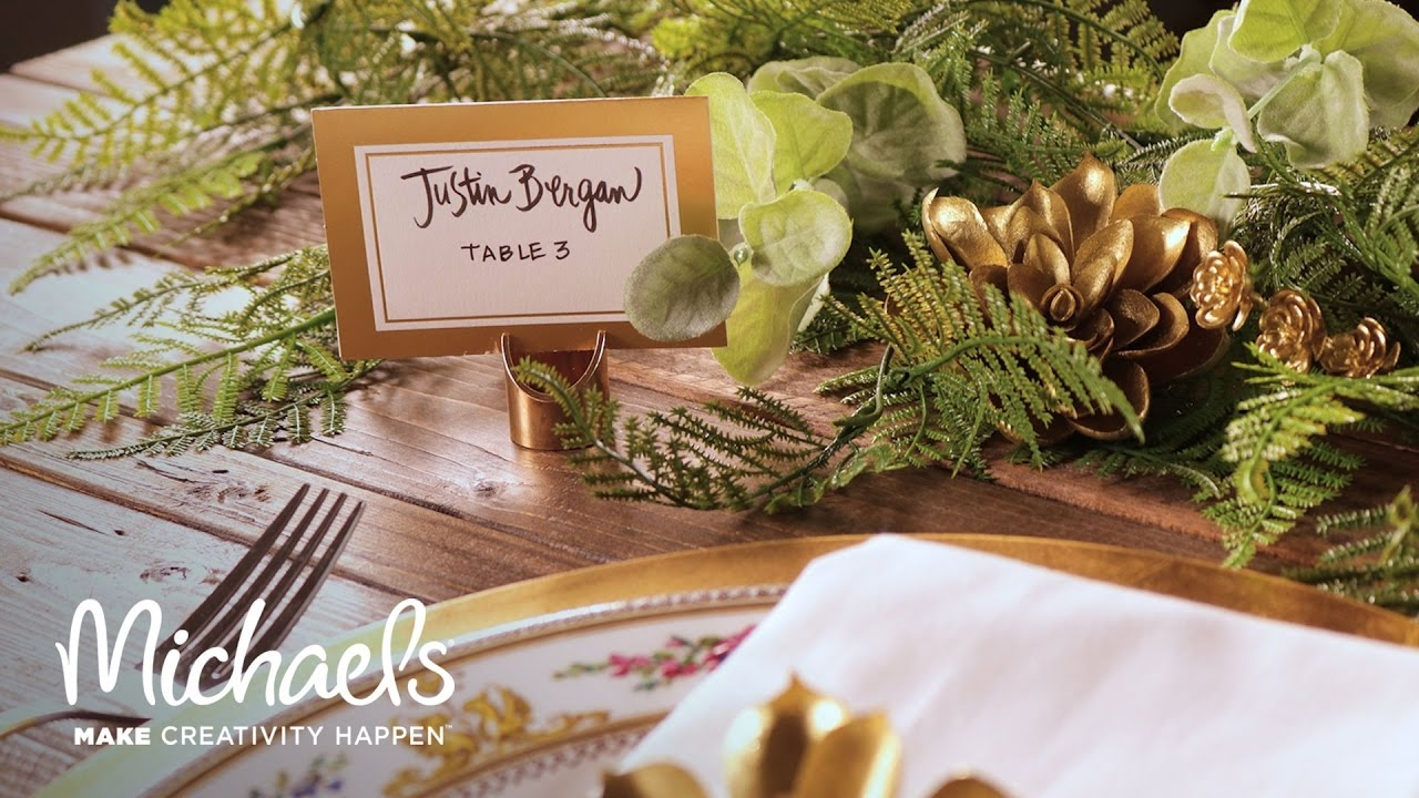 Handlettering For Place Cards David Tutera Michaels