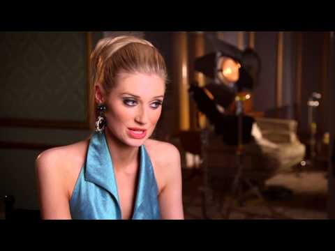 "The Man from U.N.C.L.E.: Elizabeth Debicki ""Victoria"" Behind the Scenes Interview"