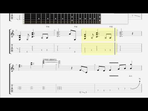Bon Jovi   Livin ' On a Prayer GUITAR 1 TAB