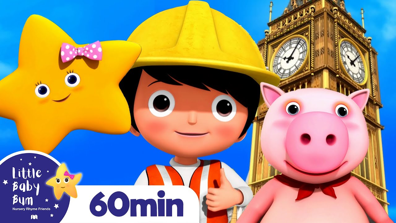 London Bridge +More Nursery Rhymes and Kids Songs | Little Baby Bum