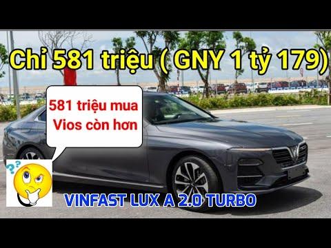Không có hộ khẩu Hải Phòng vẫn mua được xe sang Vinfast Lux A tầm giá  581 triệu, xem ngay video
