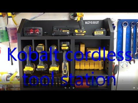 Kobalt cordless tool station