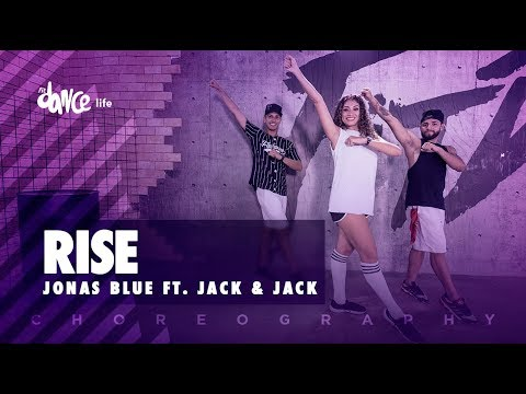 Rise - Jonas Blue ft. Jack & Jack | FitDance Life (Coreografía) Dance Video