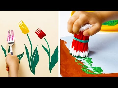 16 CREATIVE DRAWING HACKS FOR KIDS