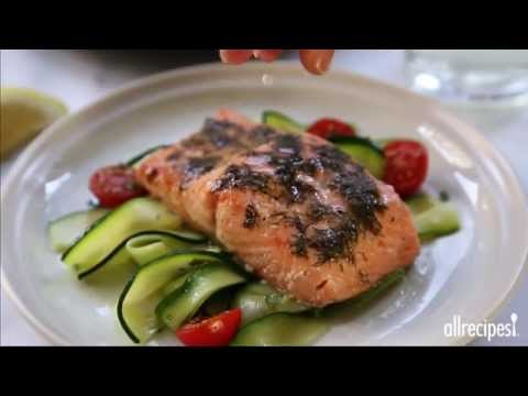 How to Make Salmon with Lemon and Dill | Salmon Recipes | Allrecipes.com