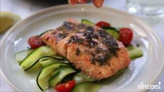 Salmon Recipes - How To Make Salmon With Lemon And Dill