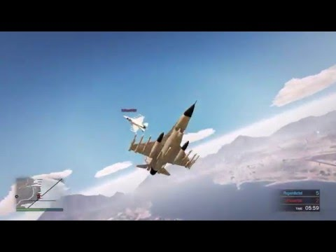 GTA 5, Online Dogfight | Online Jet Match