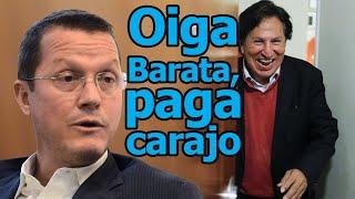 """Odebrecht: Humor político Alejandro Toledo """"Oiga Barata, paga carajo"""""""