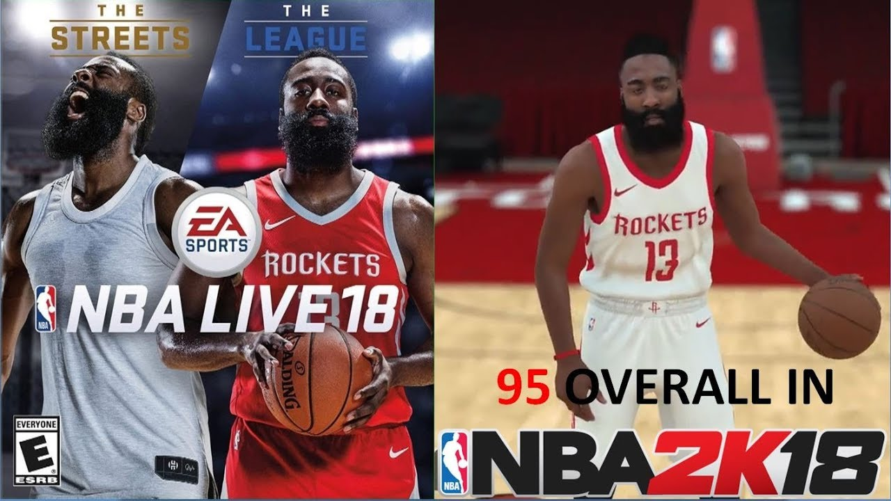 NBA Live Cover Athletes Ratings in NBA 2K