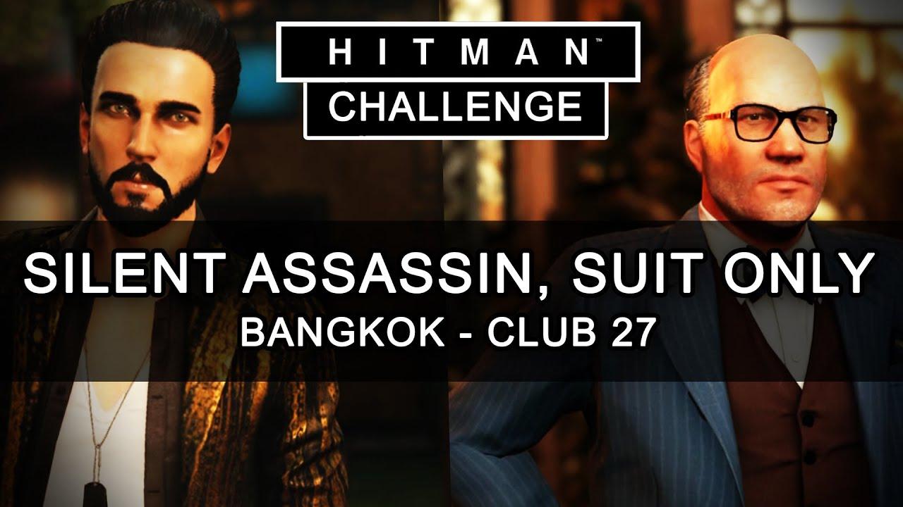 Hitman Thailand Silent Assassin Suit Only Hitman Bangkok